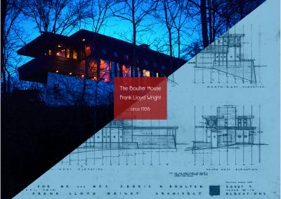 #theBOULTERhouse by Frank Lloyd Wright