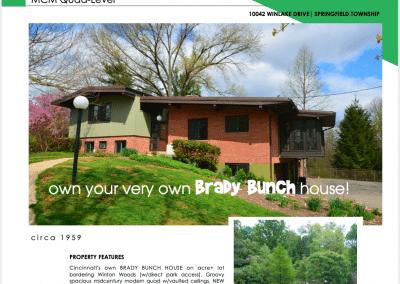 cincy BRADY house