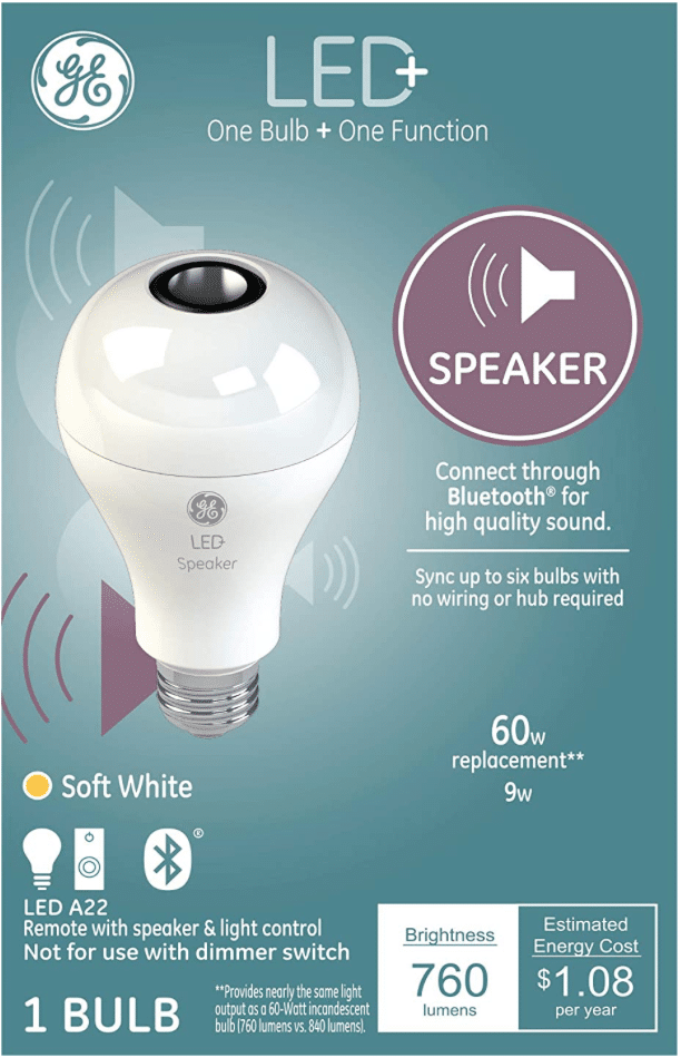 GE Bluetooth Light Bulb
